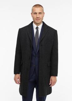 J.Crew Everyday glen plaid topcoat with eco-friendly PrimaLoft®