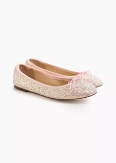 Evie ballet flats in glitter