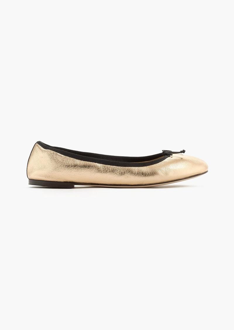 J.Crew Evie ballet flats in gold  70c05765c