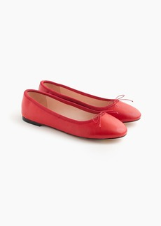 J.Crew Evie ballet flats in leather