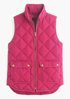 J.Crew Excursion quilted down vest