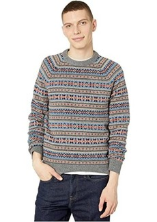 J.Crew Fair Isle Lambswool Crewneck Sweater