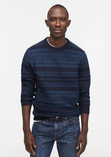 J.Crew Fair Isle lambswool crewneck sweater