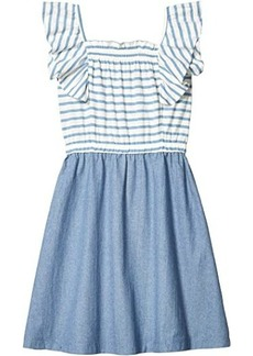 J.Crew Faye Combo Stripe Dress (Toddler/Little Kid/Big Kid)