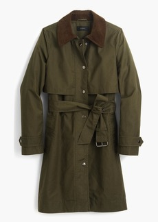 J.Crew Field trench coat