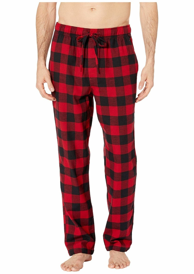 J.Crew Flannel Lounge Pant in Buffalo Check