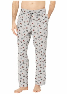 J.Crew Flannel Lounge Pant in Hat Print