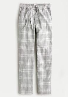 J.Crew Flannel lounge pant in heather grey
