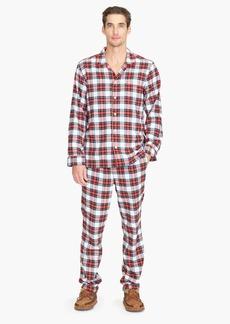 J.Crew Flannel pajama set in  snowy Stewart tartan