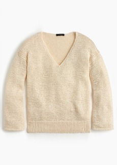 J.Crew Flared-sleeve swing sweater