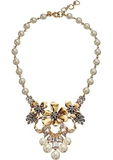 J.Crew Flo Pave and Pearl Necklace