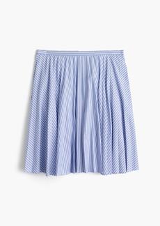 Flouncy striped skirt