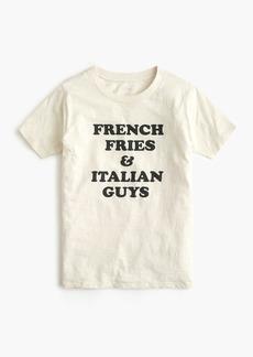 "J.Crew ""French fries"" T-shirt"