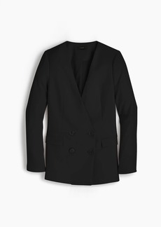 J.Crew Tall French girl blazer in 365 crepe