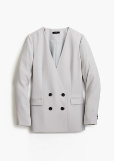 J.Crew French girl blazer in 365 crepe