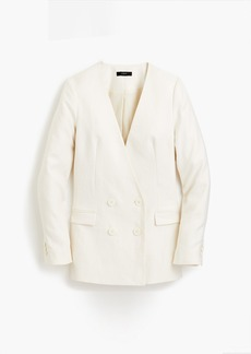 J.Crew French girl blazer in linen