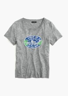 French travel logo T-shirt