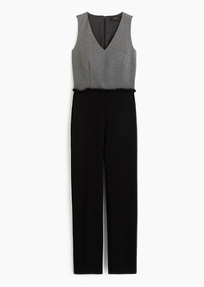 J.Crew Full-length combo jumpsuit