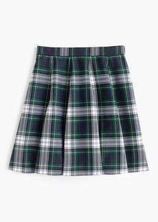 Full mini skirt in tartan plaid