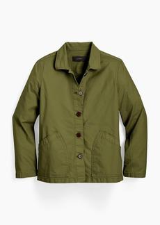 J.Crew Garment-dyed chino swing jacket