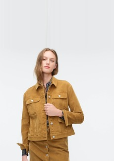 J.Crew Garment-dyed corduroy jacket