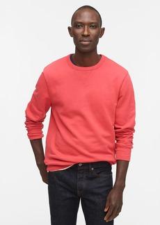 J.Crew Garment-dyed french terry crewneck sweatshirt