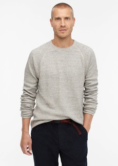 J.Crew Wallace & Barnes honeycomb-stitch thermal long-sleeve crewneck