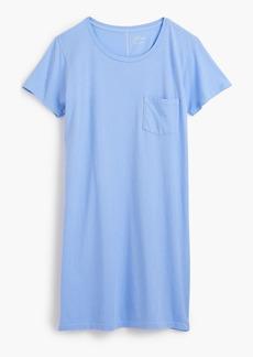 J.Crew Garment-dyed pocket T-shirt dress