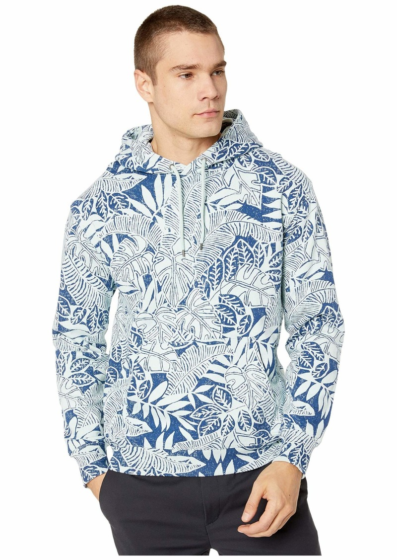 J.Crew Garment-Dyed Pullover All Over Print Hoodie