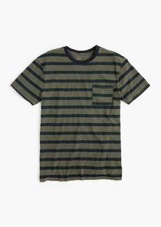 J.Crew Garment-dyed T-shirt in harbor stripe