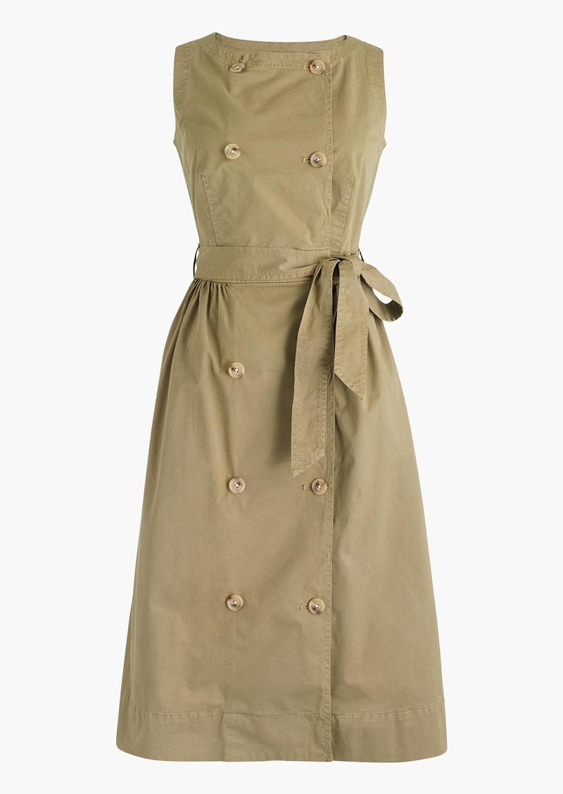 J.Crew Garment-dyed trench dress