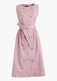 J.Crew Garment-dyed trench dress