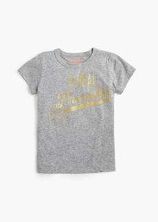 "J.Crew Girls' ""a real firecracker"" T-shirt"