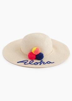 """J.Crew Girls' """"aloha"""" sun hat"""