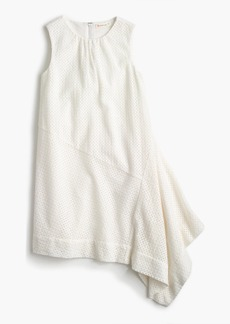 J.Crew Girls' asymmetrical eyelet dress