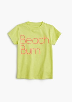 "J.Crew Girls' ""beach bum"" T-shirt"