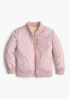 J.Crew Girls' bomber jacket