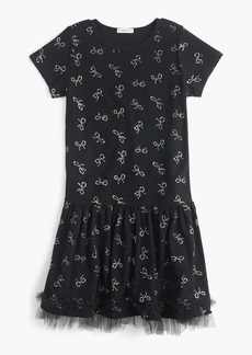 J.Crew Girls' bow-print dress