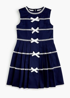 J.Crew Girls' bow-trimmed dress