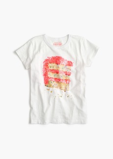J.Crew Girls' cake T-shirt