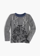 J.Crew Girls' cat with antlers T-shirt