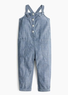 J.Crew Girls' chambray jumpsuit