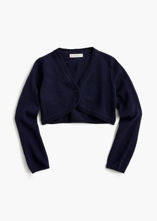 J.Crew Girls' cropped cardigan