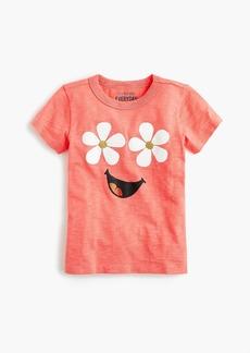 J.Crew Girls' daisy-face T-shirt