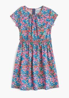 J.Crew Girls' elastic-waist dress in garden floral