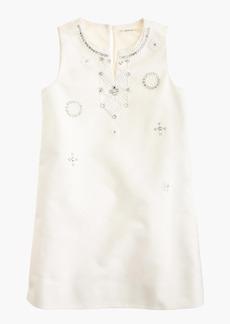 J.Crew Girls' embellished dress in cotton cady