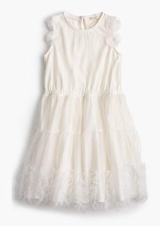 J.Crew Girls' embellished tulle dress