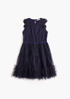 J.Crew Girls' embellished tulle dress