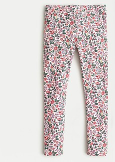 J.Crew Girl's everyday legging in pink floral