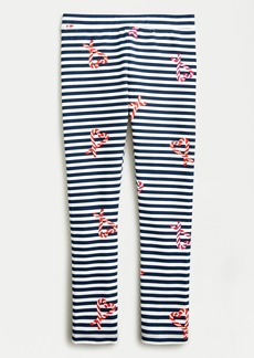 J.Crew Girls' everyday leggings in candy cane stripes